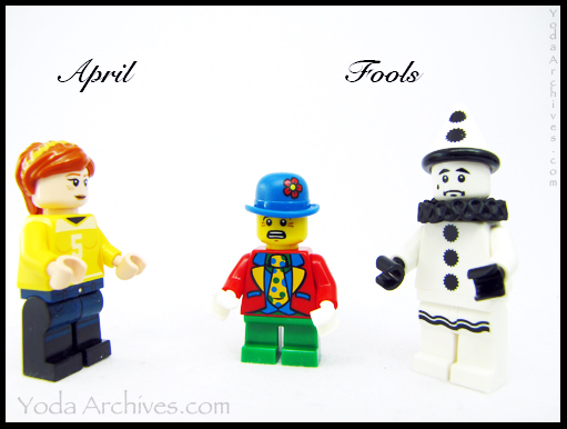 april fools in LEGO