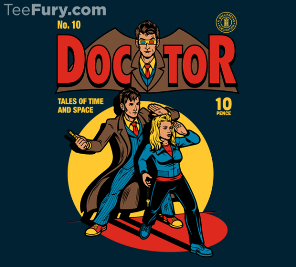 doctor who and batman