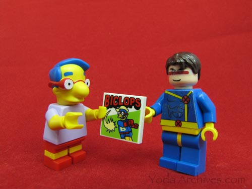 milhouse meets cyclops