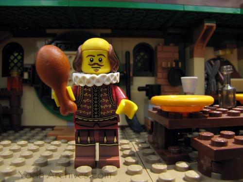 lego shakespeare minifig
