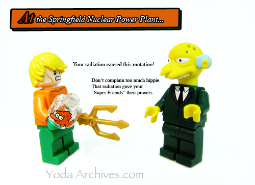 aquaman meets mr burns