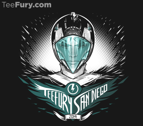 tee fury comic con shirt