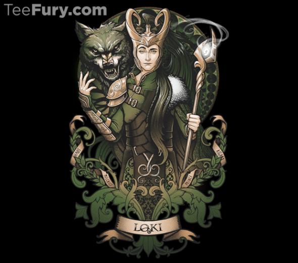 Loki tee shirt