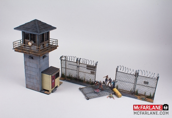 McFarlane Toys The Walking Dead Building Set The Prison Tower_5BBB9AB0-107F-11E4-AD17005056A302E6