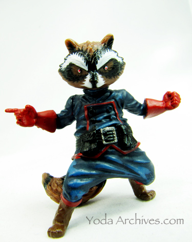 Rocket Raccoon figure