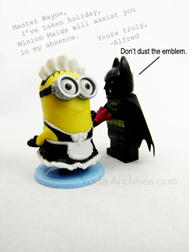 lego batman and minion