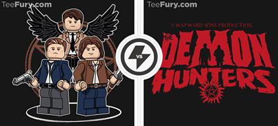 LEGO supernatural shirts