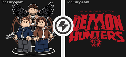 LEGO supernatural shirts