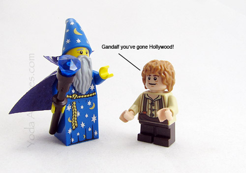 Gandalf goes Hollywood