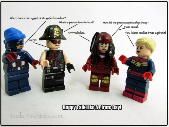avengers as pirates