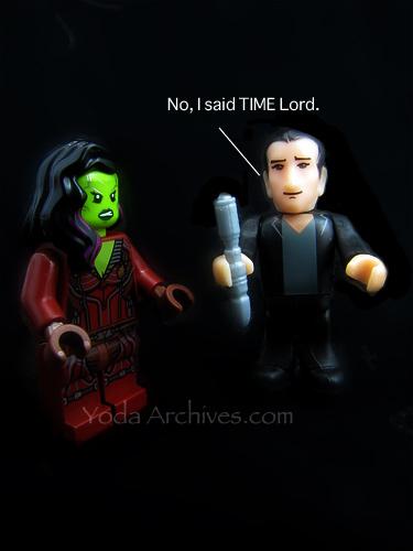 ninth doctor meets gamora