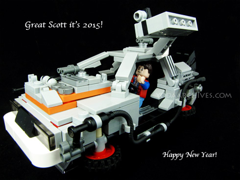Back to the future lego set
