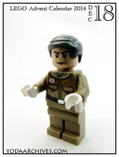 who is todays advent minifig