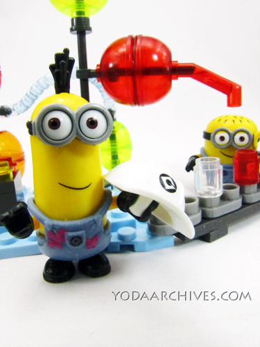 Mega bloks despicable me jelly lab set