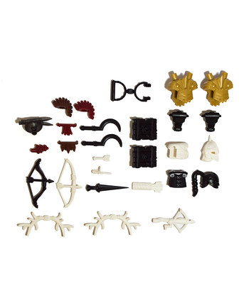 brick warriors accessory packs