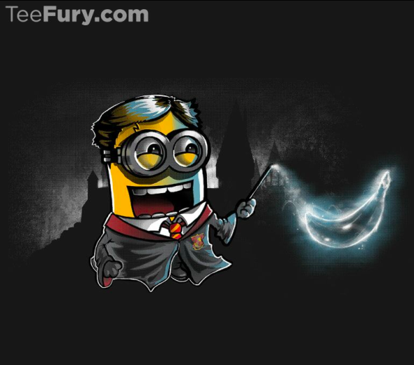 Expecto Bananum! by Coconutman  harry Potter tees minion shirts