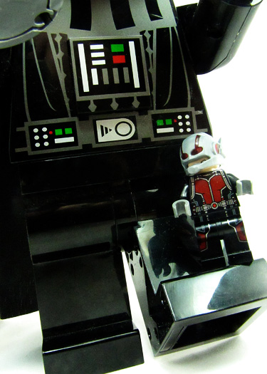 lego antman geeting the boot from darth vader