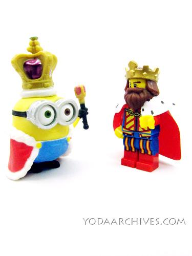 King Bob Meets King LEGO