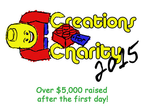 creations for charity LEGO event