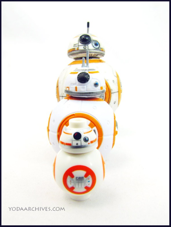 LEGO bb-8, 3.75 bb-8. Black series bb-8