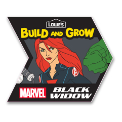 black widow patch from lowes