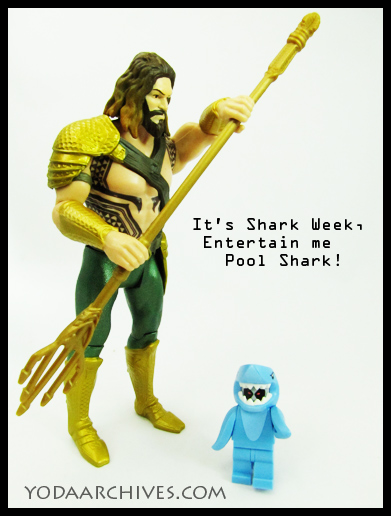 Aquaman celbrate shark week with deadpool