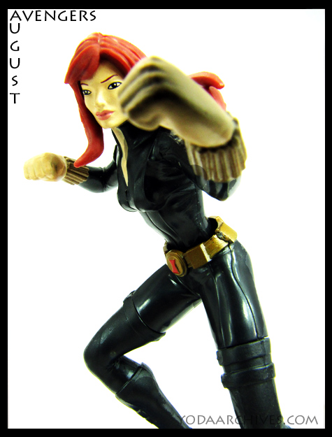 Black widow playmation figure