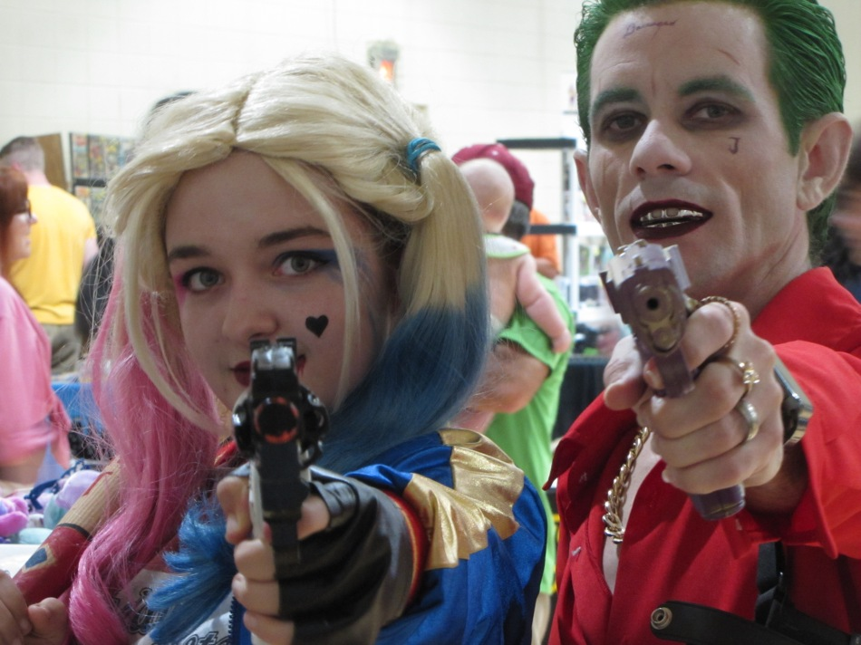 Harley Quinn and the Joker at the Geek Garthering