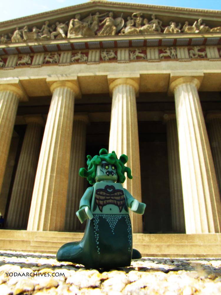 Medusa at the Parthenon
