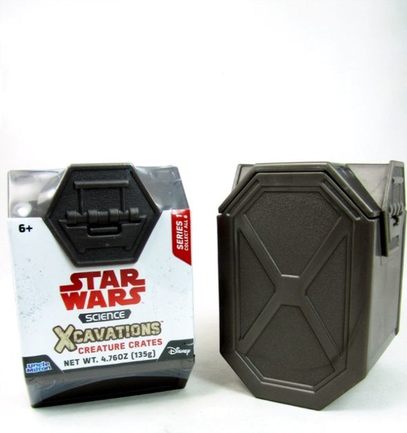 Star Wars Science Xcavations Creature Crates one wrapped one unwrapped
