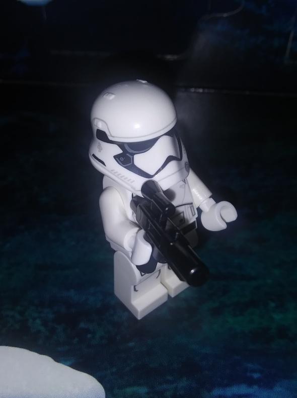 LEGO First Order stromtrooper.