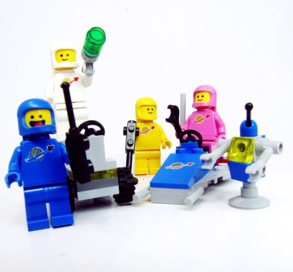 lego astronauts.