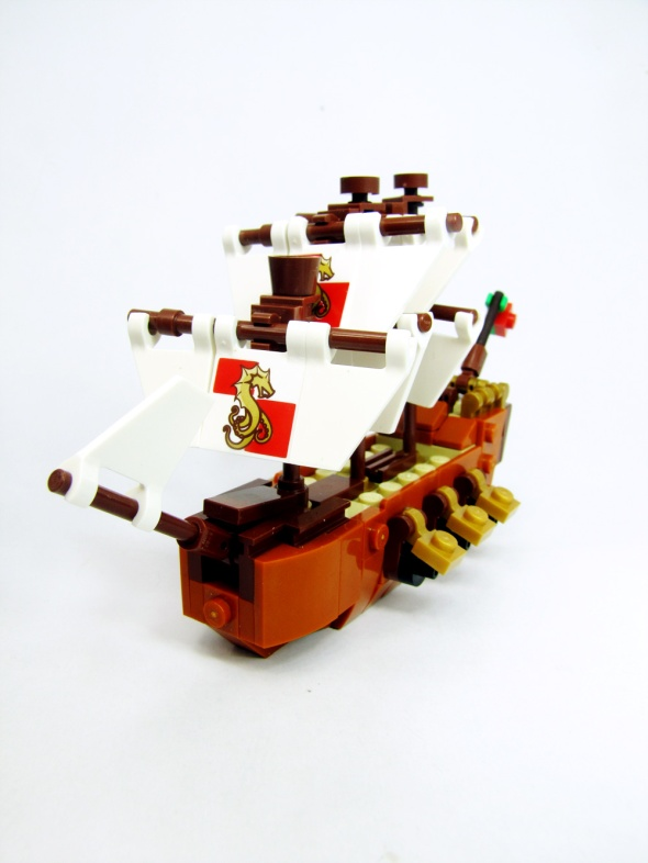 LEGO Sailing ship.