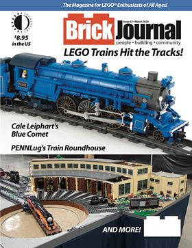 brick journal cover of a train.