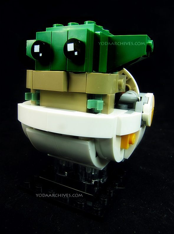 The child brick headz kit. The child is a young alien of the came species as Yoda.