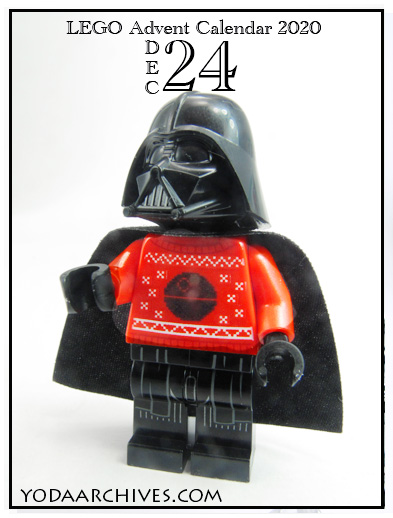 darth Vader in an ugly sweater.